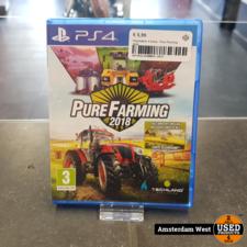 Playstation 4 Playstation 4 Game : Pure Farming 2018