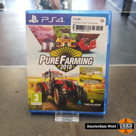 Playstation 4 Game : Pure Farming 2018