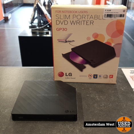 LG GP30 Portable DVD Writer