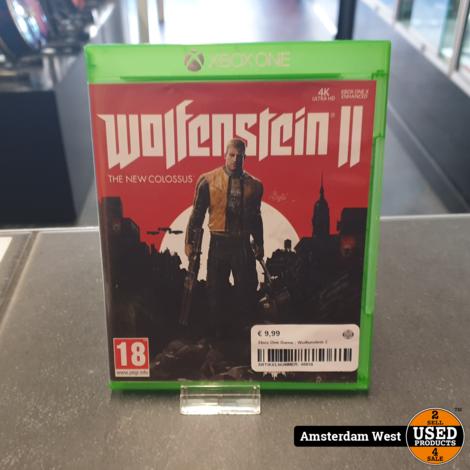 Xbox One Game : Wolfenstein 2