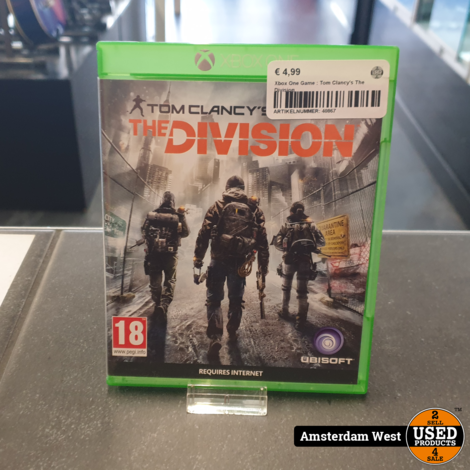 Xbox One Game : Tom Clancy's The Division