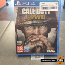 Playstation 4 Playstation 4 Game : Call of Duty WW2