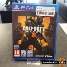 Playstation 4 Playstation 4 Game : Call of Duty Black Ops 4