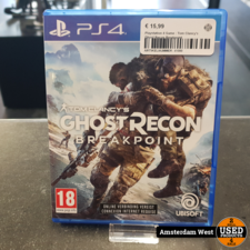 Playstation 4 Playstation 4 Game : Tom Clancy's Ghost Recon Breakpoint