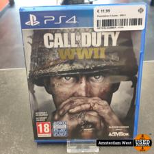 Playstation 4 Playstation 4 Game : WW II