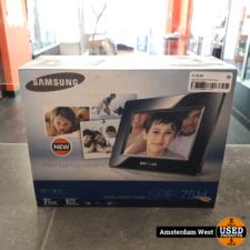 samsung Samsung Digital Photo Frame SPF-75H | Nieuw