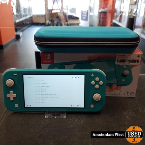 Nintendo Switch Lite Turquoise | Nette staat