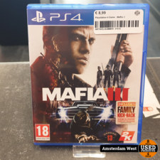 Playstation 4 Playstation 4 Game : Maffia 3