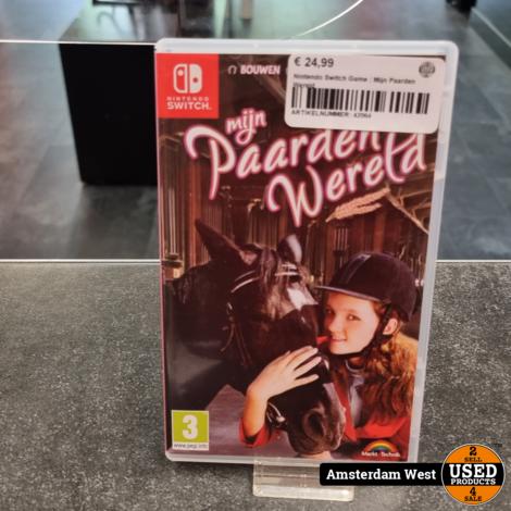 Nintendo Switch Game : Mijn Paardenwereld