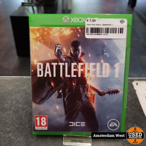 Xbox One Game : Battlefield 1