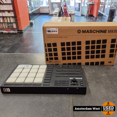 Native Instruments Mashchine Mikro MK3 Controller
