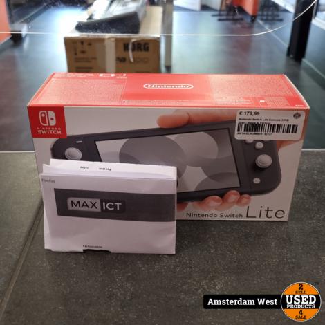 Nintendo Switch Lite Console 32GB Grey   Nieuw & Factuur