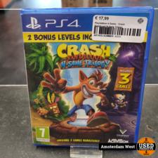 Playstation 4 Playstation 4 Game : Crash Bandicoot N-Sane Trilogy
