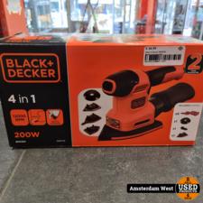 Black & Decker Black & Decker BEW200 Multischuurmachine