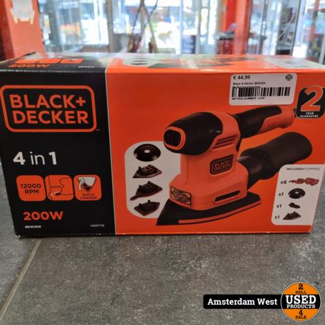 Black & Decker BEW200 Multischuurmachine