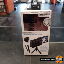 Soundlogic Soundlogic Vlog Camera Incl Scherm   Nieuw
