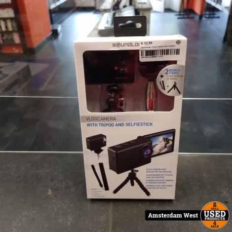 Soundlogic Vlog Camera Incl Scherm   Nieuw