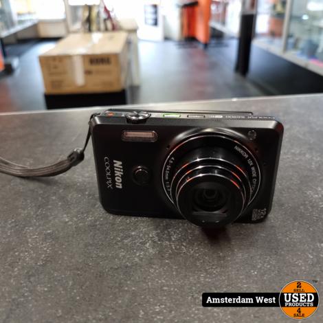 Nikon Coolpix S6900 Zwart
