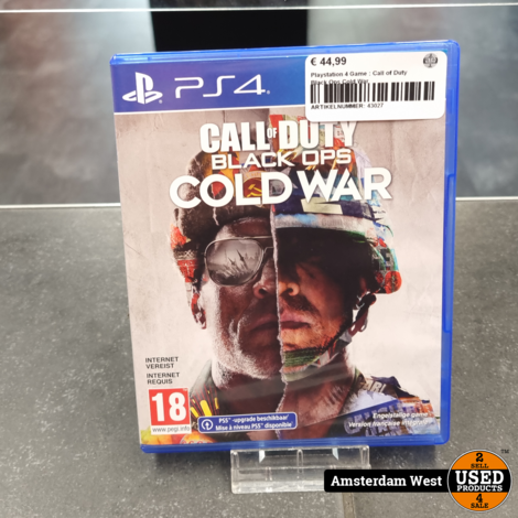 Playstation 4 Game : Call of Duty Black Ops Cold War