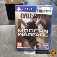 Playstation 4 Playstation 4 Game : Call of Duty Modern Warfare