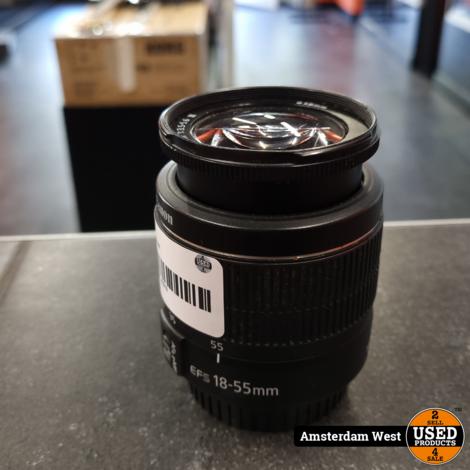 Canon EF-S 18-55mm   Nette staat