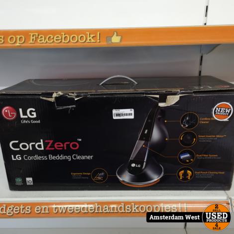 LG VH9500DSW CordZero BeddCleaner   Nieuw