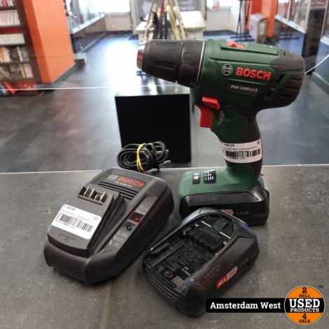 Bosch PSR 1800 Li-2 Boormachine 2x 1.5Ah Accu | Zeer nette staat