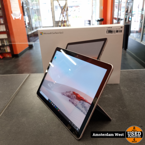 Microsoft Surface Go 2 - 4 GB - 64 GB   Nieuwstaat