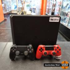 Playstation 4 Playstation 4 Slim 1TB Zwart & 2 Controllers