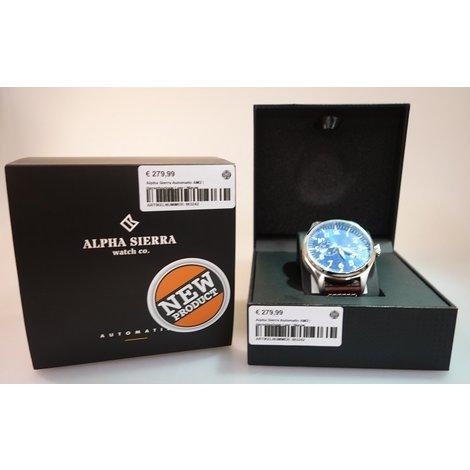 Alpha Sierra Automatic AM2 Herenhorloge Leer | Nieuw