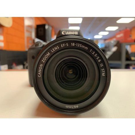 Canon EOS 760D + EFS 18-135mm IS STM Lens 9312 Clicks (9%) | Nette staat