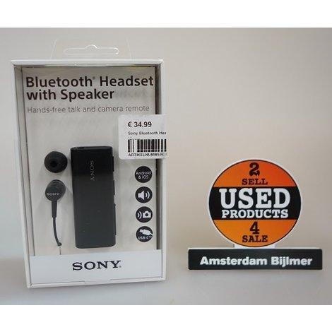 Sony Bluetooth Headset with speaker | Nieuw