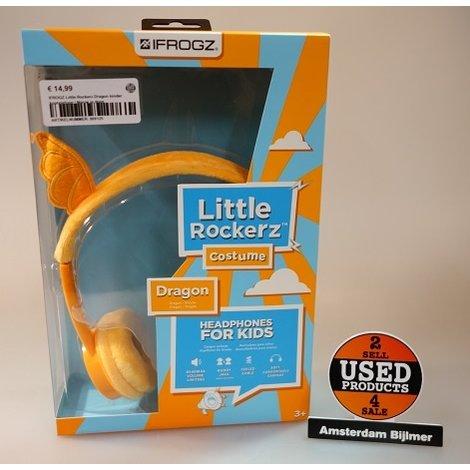 IFROGZ Little Rockerz Dragon kinder koptelefoon | Nieuw
