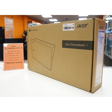 Acer Chromebook CB3-132-C9AP Denim White | Nieuw