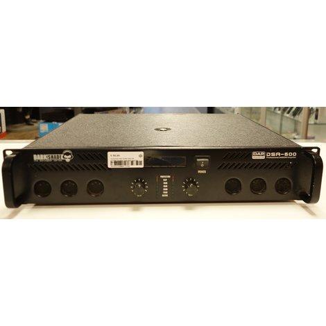 Darkshade DAP AUDIO DSA-250 2x250W Amplifier Gebruikte staat Incl Garantie