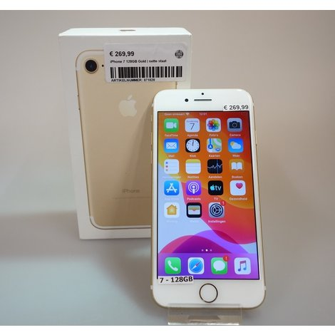 iPhone 7 128GB Gold | nette staat