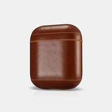 Apple Airpods Case Vintage Leather Brown | Nieuw