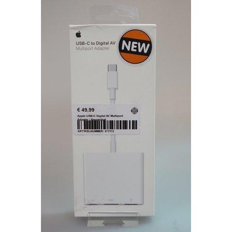 Apple USB-C Digital AV Multiport Adapter   Nieuwstaat