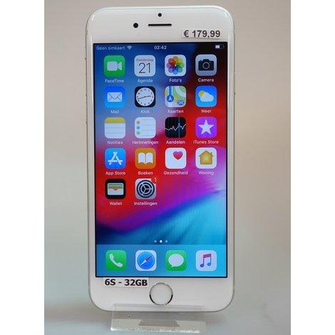 iPhone 6s 32GB Silver | Nieuwstaat