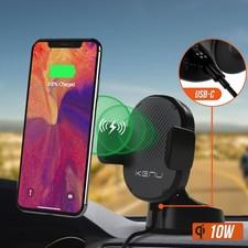 KENU Kenu Airbase Wireless Snellader Autohouder voor mobiele telefoon   Nieuw