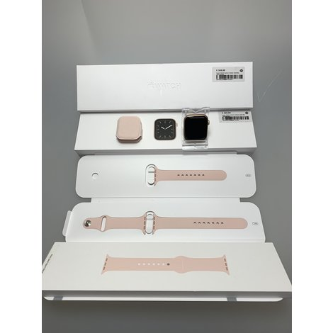 Apple Watch Series 5 44mm Gold Alu | Nieuwstaat