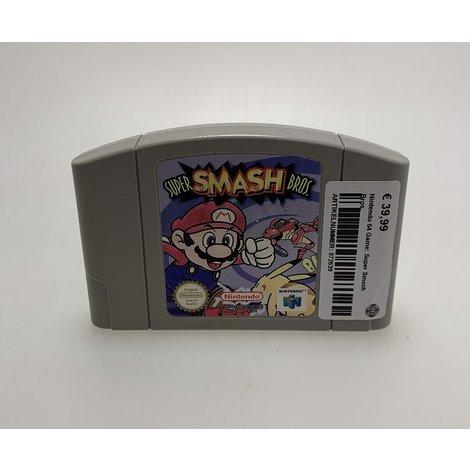 Nintendo 64 Game: Super Smash Bros.
