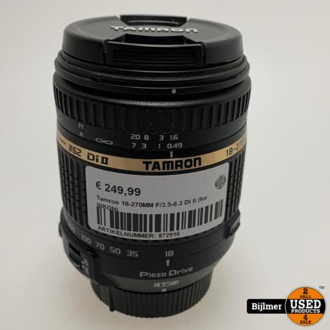 Tamron 18-270MM F/3.5-6.3 DI II (for NIKON)