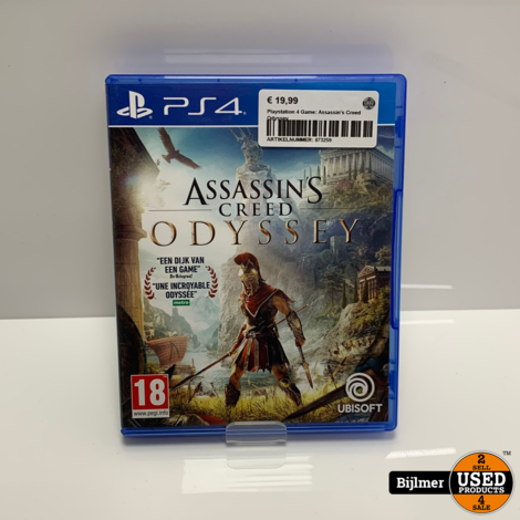 Playstation 4 Game: Assassin's Creed Odyssey
