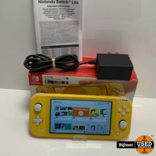 Nintendo Nintendo Switch Lite Yellow | Nieuwstaat