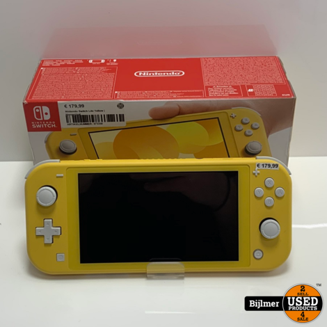 Nintendo Switch Lite Yellow | Nieuwstaat
