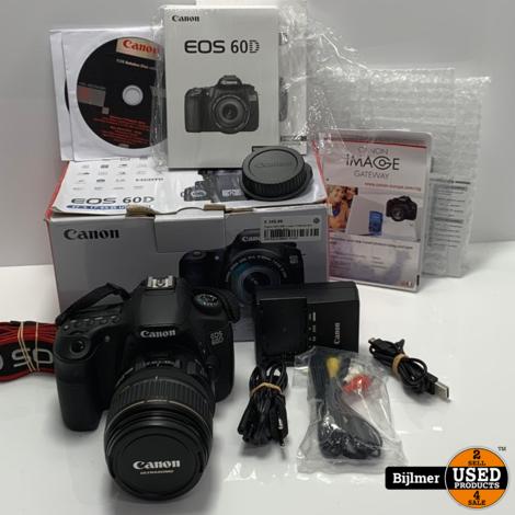 Canon EOS 60D + Lens 17-85mm ef-s 1:4-5.6 | Nette staat