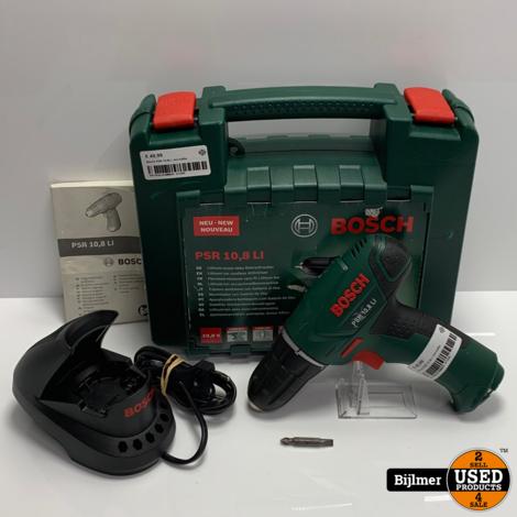 Bosch PSR 10.8LI | incl koffer
