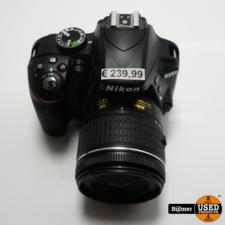 Nikon Nikon D3300 + AF-P DX Nikkor 18-55mm 1:3.5-6G VR Lens