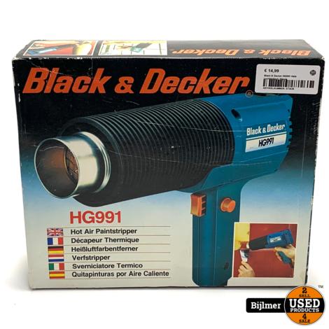 Black & Decker HG991 Hete luchtpistool | Nieuw